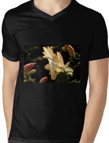 Christmas Cactus - White Swan Floral Mens V-Neck T-Shirt