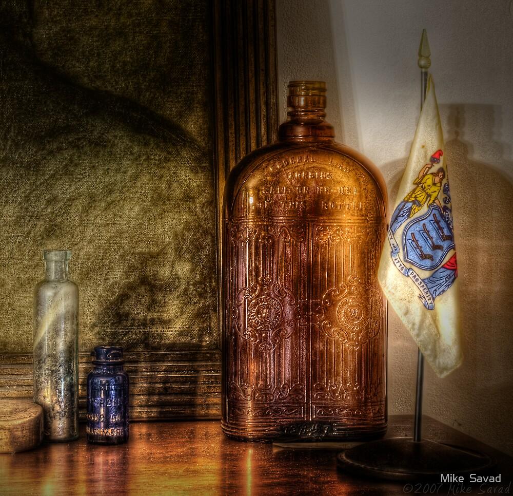 Bottles by Mike  Savad