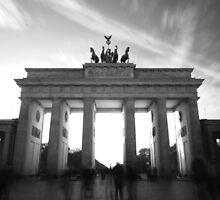 60 seconds of Berlin (B/W) by Janis Möller