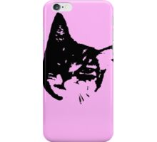 Pink Kitty Head iPhone Case/Skin
