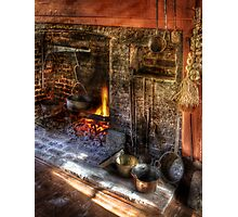 The Fireplace Photographic Print