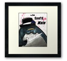 Bad neighborhood.  Framed Print