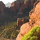 Above Sedona Arizona by Kenn Jensen