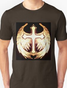 Angel wings Celtic cross Unisex T-Shirt