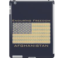 Enduring Freedom Afghanistan iPad Case/Skin