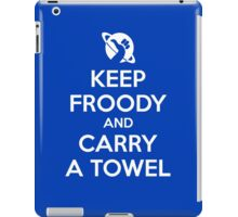 Keep Froody and Carry a Towel iPad Case/Skin