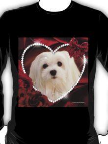 Snowdrop the Maltese - Sweet Valentine T-Shirt