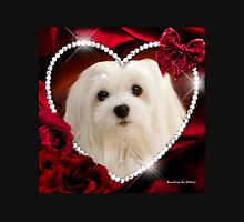 Snowdrop the Maltese - Sweet Valentine Unisex T-Shirt