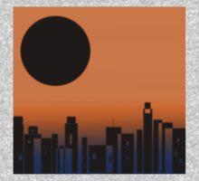 Black Moon Skyline One Piece - Long Sleeve