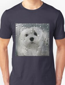 Snowdrop the Maltese - Spring Showers T-Shirt