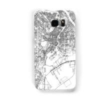 Streets - Tokyo (Black on White) Samsung Galaxy Case/Skin