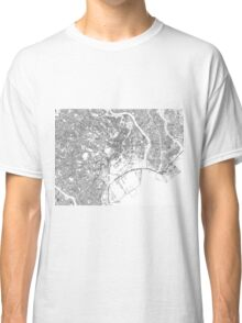 Streets - Tokyo (Black on White) Classic T-Shirt