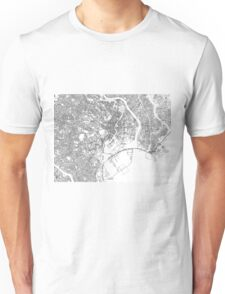 Streets - Tokyo (Black on White) Unisex T-Shirt