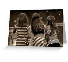 Girlfriends Greeting Card