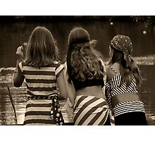 Girlfriends Photographic Print