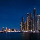 Dubai Marina Skyline by fernblacker