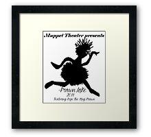 Grace Thy Name is Crustean Framed Print