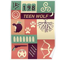Teen Wolf Poster Poster