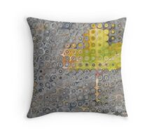 A lonely leaf Throw Pillow