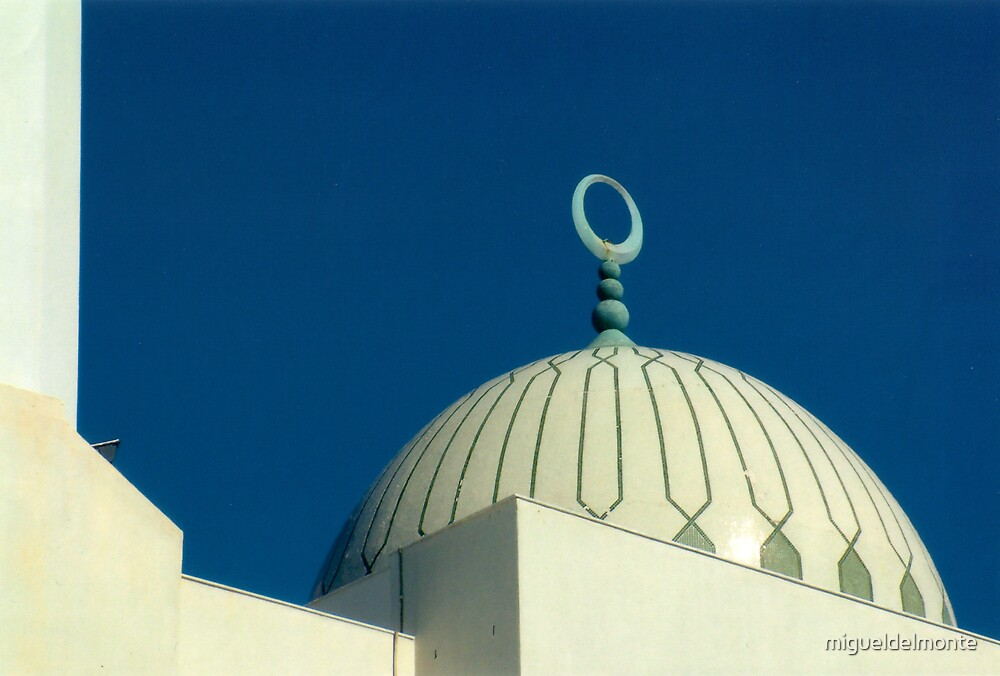 Mosque Dome by migueldelmonte