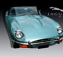 Jaguar E-Type by Bob Martin