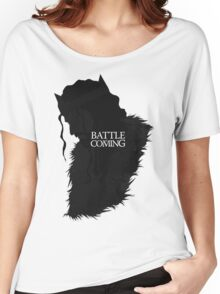 The Battle is Coming Women's Relaxed Fit T-Shirt