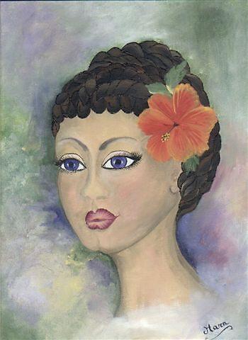 Bahemian Mona Lisa by ArtExpressions