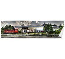 8159 Train Panorama Poster