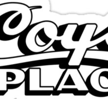 I Remember Coy's Place Sticker