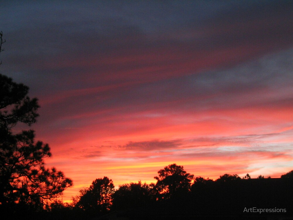 Sunrise at Lake Placid by ArtExpressions