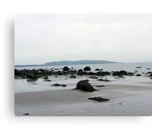 Island In The Fog Canvas Print