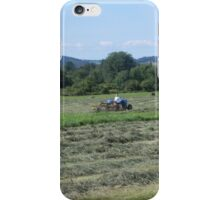 Cutting The Hay iPhone Case/Skin