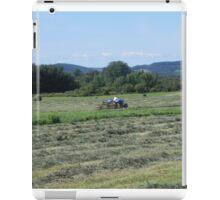 Cutting The Hay iPad Case/Skin