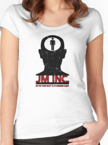 JM Inc. from Being John Malkovich Women's Fitted Scoop T-Shirt