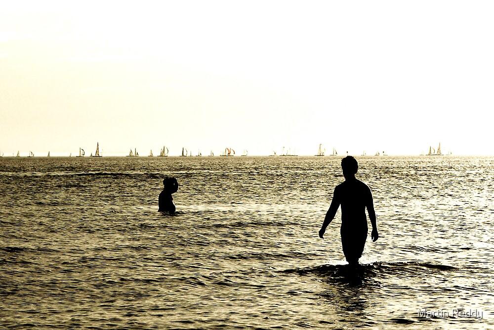 The beach 2 by Martin Reddy