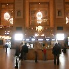 Ghosts in Grand Central by Bernadette Claffey