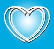 True blue hearts by Aurora