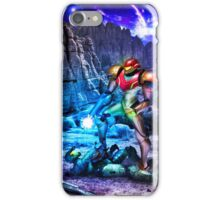 Samus Vs M.Chief iPhone Case/Skin
