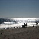 On the Beach by Bernadette Claffey