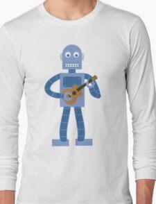 Ukulele Robot Long Sleeve T-Shirt