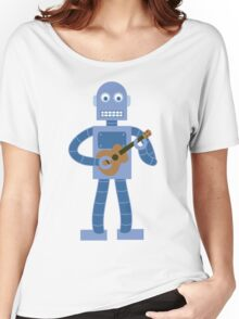 Ukulele Robot Women's Relaxed Fit T-Shirt