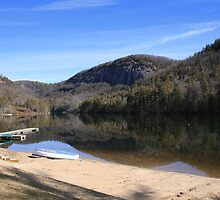 Sappire Lake by Wanda Faircloth