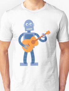 Guitar Robot Unisex T-Shirt