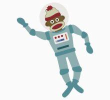 Sock Monkey Astronaut Kids Clothes