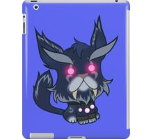 Kitty is for Feral: Black Cat. iPad Case/Skin
