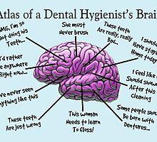 Funny Hygienist's Brain by Gail Gabel, LLC