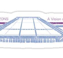 Vision of Horizons Sticker