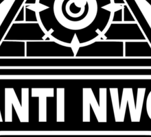 Anti NWO Sticker