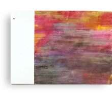 abstract colors in twisty lines Canvas Print