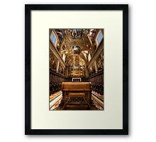Organic Passion Framed Print